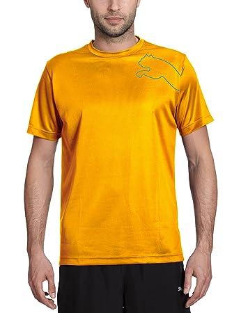 maglietta uomo puma yellow