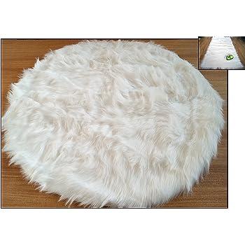 fabelia flauschiger flokati stil hochflor shaggy teppich ameiny faux lammfell 70 mm kuscheliger