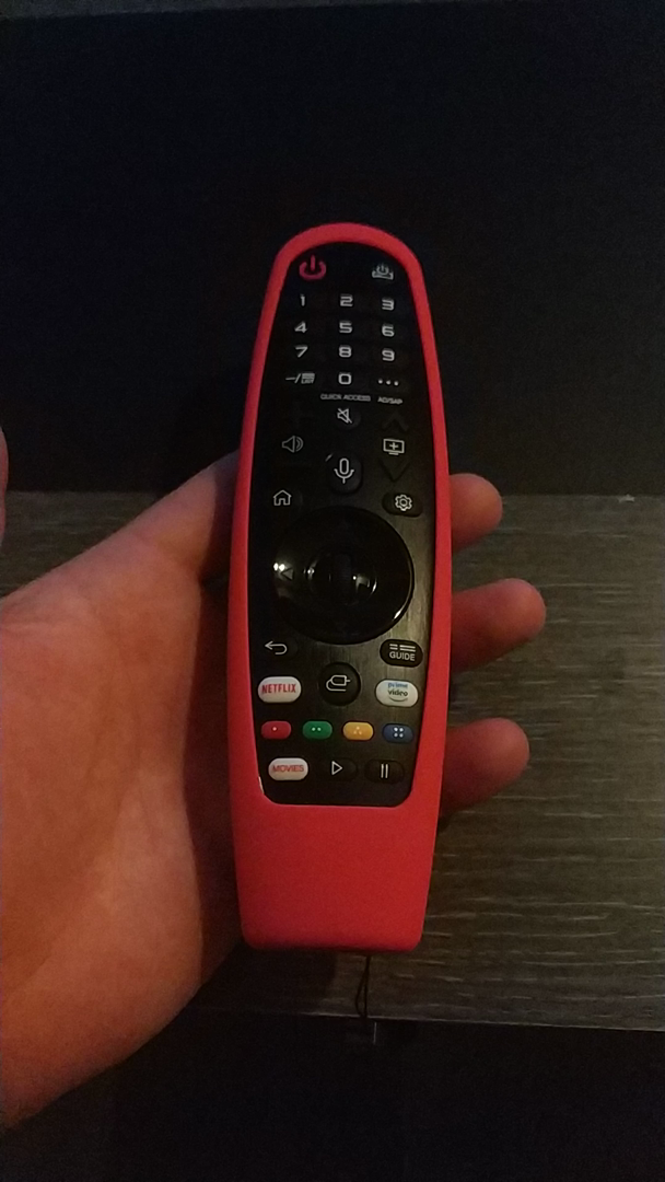LG Magic Control AN-MR19BA - Mando a distancia (añade Amazon Alexa ...