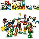 LEGO Avventure di Mario - Starter Pack + Costruisci la tua avventura - Maker Pack + Mario pinguino - Power Up Pack + Mario ta