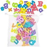 THE TWIDDLERS 100 Juguetes para el Baño - Letras y Números | Bebés Jugar y Aprender