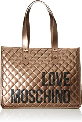 Love Moschino Borsa Quilted Nappa Pu, Tote Donna, 32x42x16 cm (W x H x L)