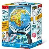 Clementoni - 12097 - Sapientino - Esploramondo Digital - globo educativo interattivo (versione in italiano) - mappamondo per