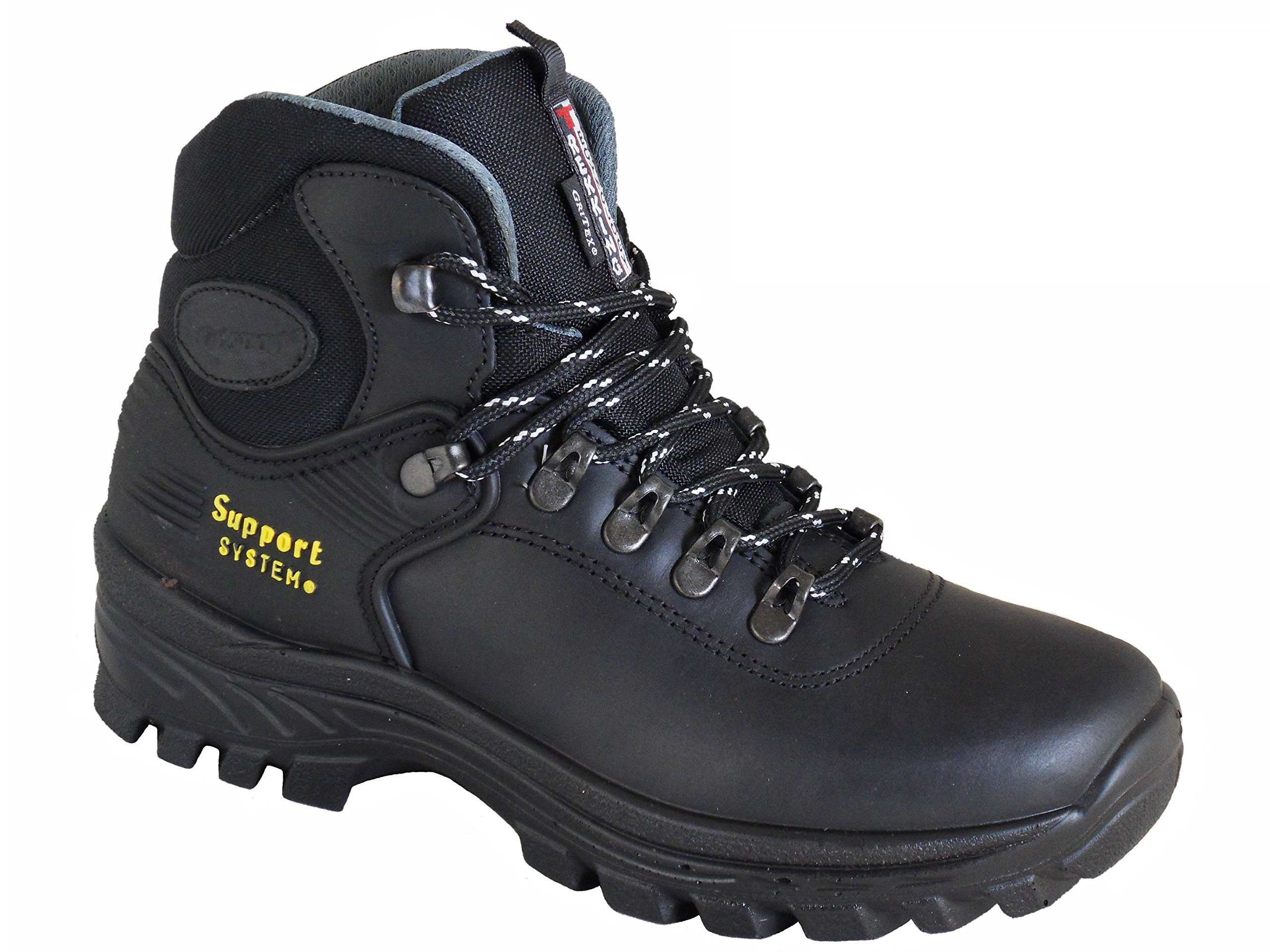 91pltF7Jg5L - Grisport Explorer Ladies Lightweight Waterproof Walking Boots Black