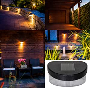 LED Hof Haus Tür Einfahrt Terrassen Balkon Beleuchtung Sensor Außen Wand Lampen