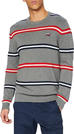Tommy Jeans Men's TJM Structured Stripe Sweater