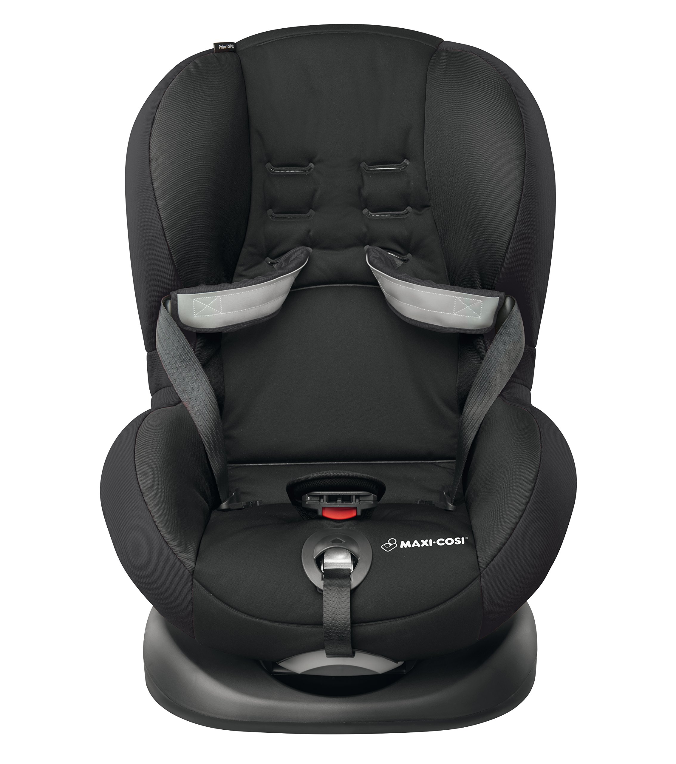Maxi-Cosi Priori SPS Toddler Car Seat with Side Protection System, 9 Months - 4 Years, 9-18 kg, Slate Black Maxi-Cosi Forward facing group 1 car seat suitable for toddlers from 9 to 18 kg (approximately 9 months to 4 years old) Easy to install with regular 3-point safety belt Side protection system (offers optimal protection against side impact) 4