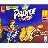 LU Prince Pocket goût chocolat 10 sachets de 40 g