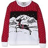 British Christmas Jumpers Family Pack-Festive Kids Christmas Jumper suéter para Niños