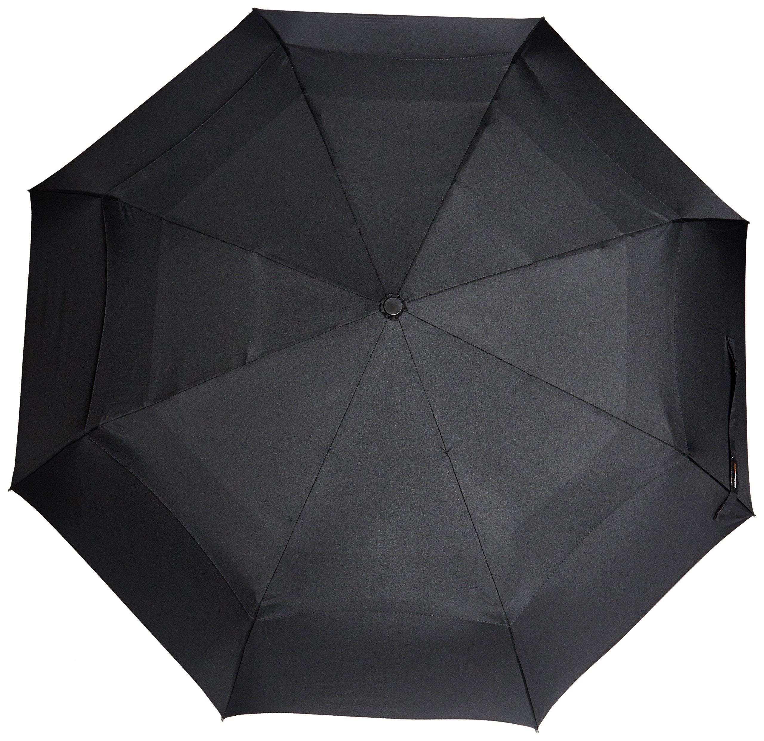 AmazonBasics Umbrella with Wind Vent, Light Blue 1