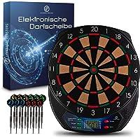 Universal Masters – Elektrische Dartscheibe – Dartboard mit 12 Darts – Für 8 Spieler*Innen & 21 Spiele – 60 Dartspitzen…