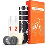 Luxshield fiets lakbeschermingsfolie voor mountainbike, BMX, racefiets, trekkingfiets etc. - 21-delige frameset tegen steensl