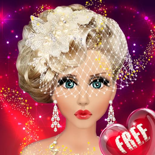 Barbie Doll Wedding Bridal Makeup, Hairstyle & Dressing Up Fashion Top Model Princess Free