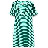 Scotch & Soda Jersey Rib Dress in A-Line Fit And Ruffle Details Vestito Bambina