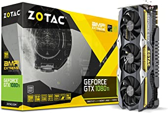 ZOTAC Geforce GTX 1080TI AMPExtreme Core Edition 11GB GDDR5X 352 Bit