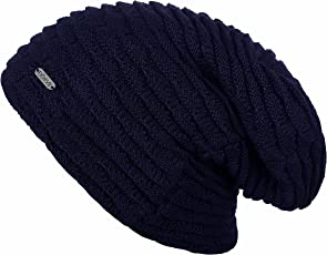 Noise NOICAPWNTR038 Polyester Sapphire Wave Knitted Beanie, Adult (Blue)