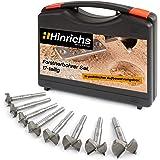 Hinrichs Forstnerboorset 17-delig in koffer - Forstner boorset 15 tot 40 mm - voor verschillende werkzaamheden houtboren plug