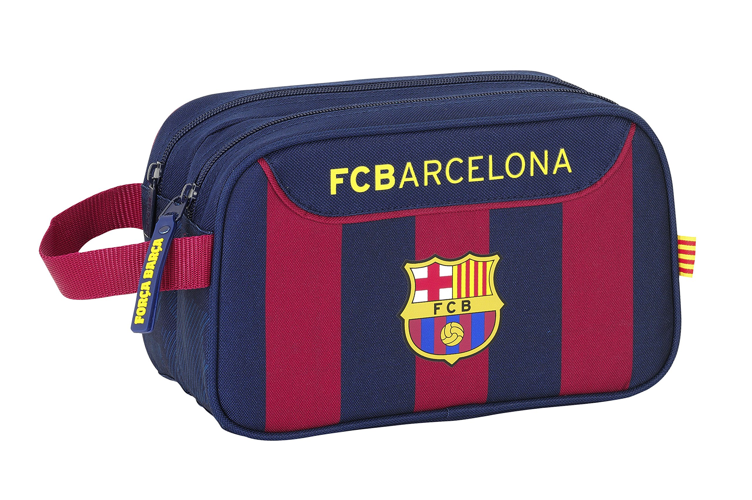 F.C. Barcelona – Neceser Adaptable, 26 x 15 x 13 cm (SAFTA 811525518)