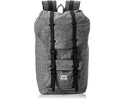 Herschel Unisex-Adult Herschel Little America Backpack, Raven Crosshatch - 10014