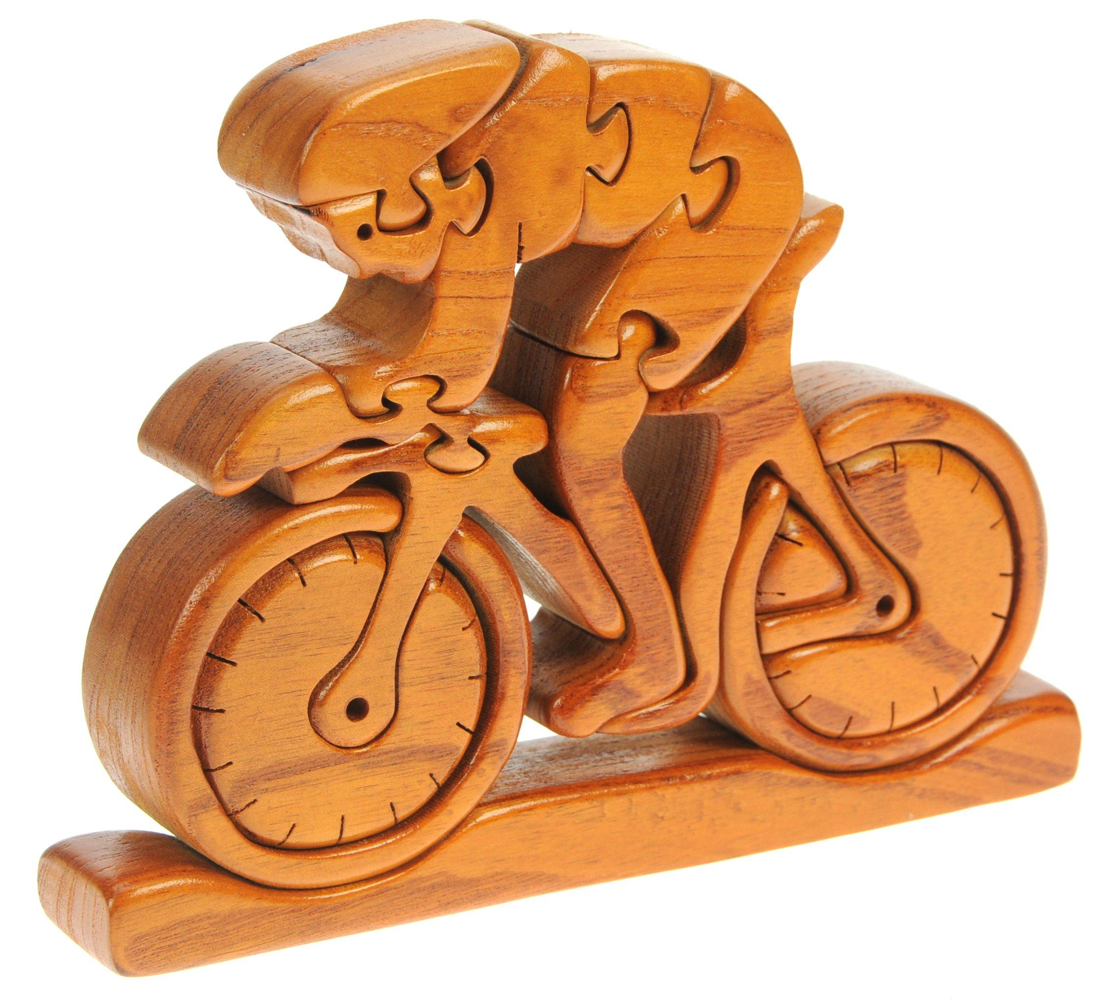 Bicicletta Da Corsa Puzzle Legno 3d Rompicapo Adulti Bambini