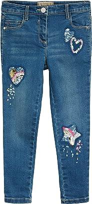 next Mädchen Jeans mit Paillettenverzierung