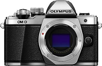 Olympus OM-D E-M10 Mark II Mirrorless Digital Camera body only (Silver)- International Version
