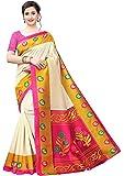 BHAKARWADi Women's Art Silk Saree with Blouse Piece (RUC-321_Variation)