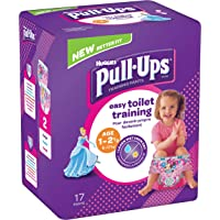 Huggies Pull-Ups Couches Culottes d'apprentissage pour filles, Medium