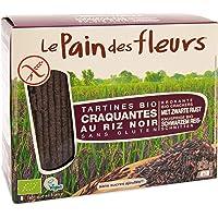 Pain Des Fleurs Tartine Tostate al Riso Nero - 4 Confezioni da 150 g