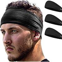 Running Headband: UNISEX Fitness & Sports Headbands Women & Men. Head Band Sweatband for Football, Yoga, Workout Gym…