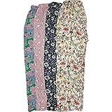 Jyoti Women's Cotton Printed Pajama (Pack of 4)