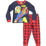 Pijama de El bombero Sam para niño multicolor 92 cm (Talla Del Fabricante: 18-24 Meses)