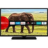 JVC LT-43VF5955 43 Zoll Fernseher (Smart TV, Prime Video / Netflix / YouTube, Full HD, Bluetooth, Works with Alexa, Triple-Tu