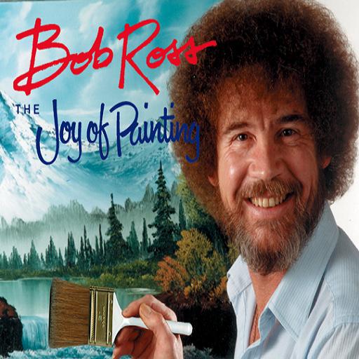 Bob Ross - The Joy of Painting (Leinwand Malt)