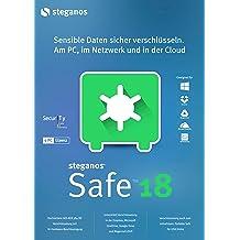 Steganos Safe 18 - Schützt und versteckt Dateien auf Knopfdruck - am PC, im Netzwerk und in der Cloud - für Windows 10, 8 oder 7 [Download]