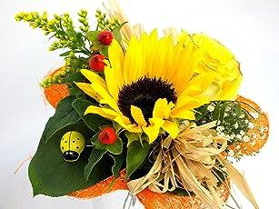 """VERSANDKOSTENFREI Blumenstrauß """"Sonnenlicht"""" + kostenlose Glückwunschkarte"""