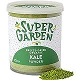 Supergarden gevriesdroogde biologisch boerenkoolpoeder - 100% puur en natuurlijk - Veganistisch - Zonder toegevoegde suiker,