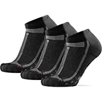 Low-Cut Running Socks for Long Distances, for Men & Women, Anti-Blister, Padded, Arch Support, Breathable, Sweat Wicking…