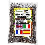 Humusziegel - 7.5 kg Pellets Gránulos Orgánicos de Estiércol de Caballo - Bio Fertilizante Organico Natural de Liberacion Len