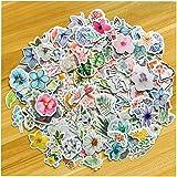440 Plantes Feuilles Stickers, NEITWAY Autocollants pour Scrapbooking Motif Plantes Tropicales Florales, pour Enveloppes, Aut
