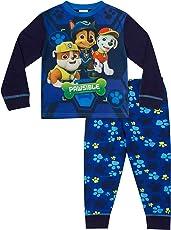 Schlafanzug für Jungen von 3bis 7Jahren, Motiv Paw Patrol, W17,blau