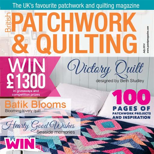 Patchwork and Quilting Magazine (Quilt-zeitschrift)