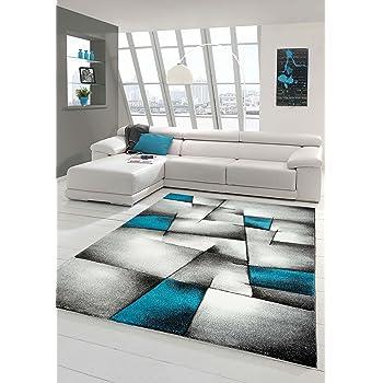 Amazon.de: Paco Home Designer Teppich Wohnzimmer Ausgefallene ...