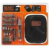 Black + Decker A7104-XJ Coffret de Tournevis à cliquet avec accessoires