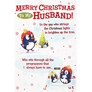 Hallmark forever friends christmas card to husband cosy cuddles hallmark christmas card to husband the guy who medium m4hsunfo