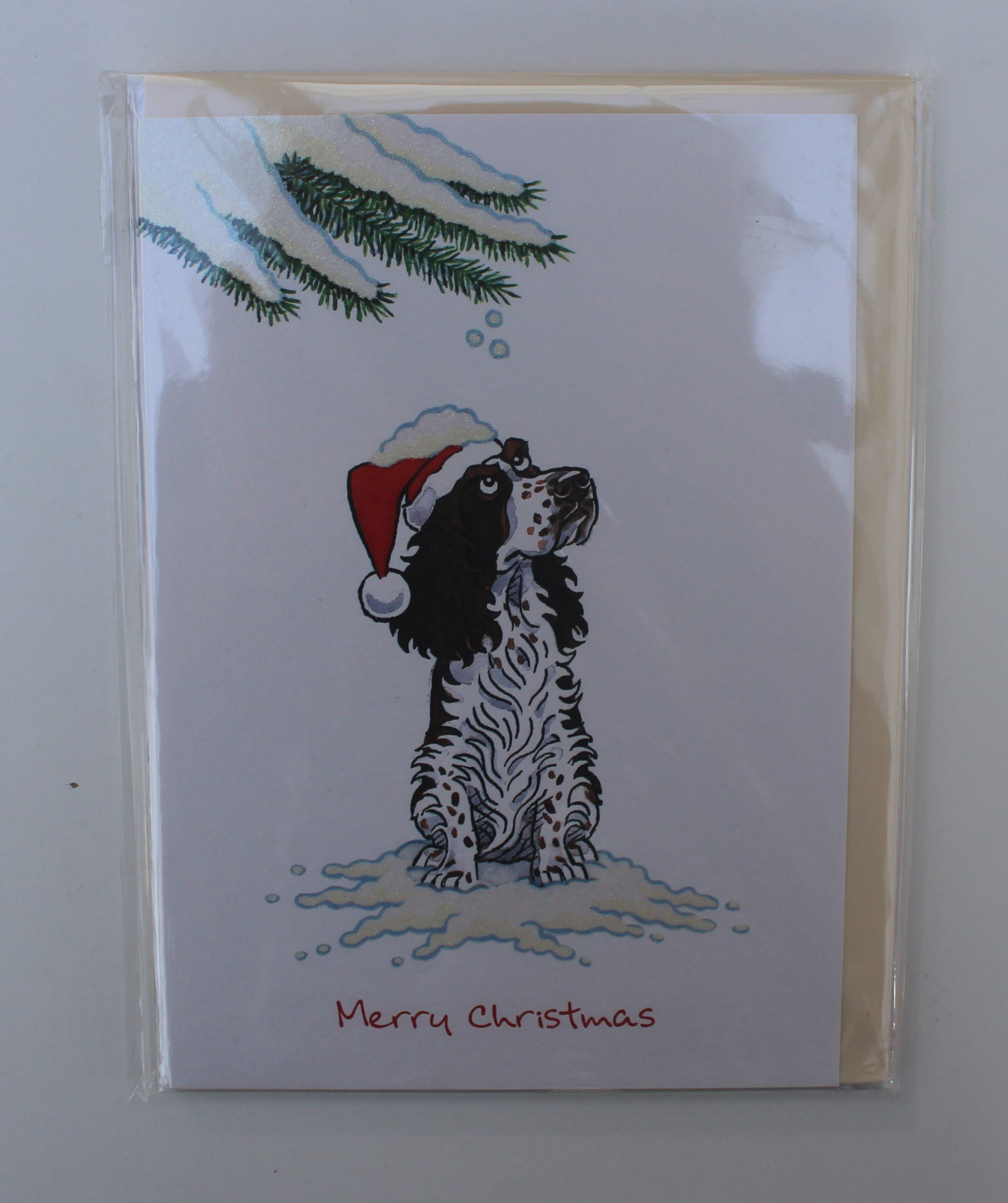 ENGLISH SPRINGER SPANIEL CHRISTMAS CARDS