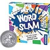 Thames & Kosmos Word Slam Party Game   Family Fun Game Night   Fast-Paced Word-Based Guessing Game   3 or More Players   Pare