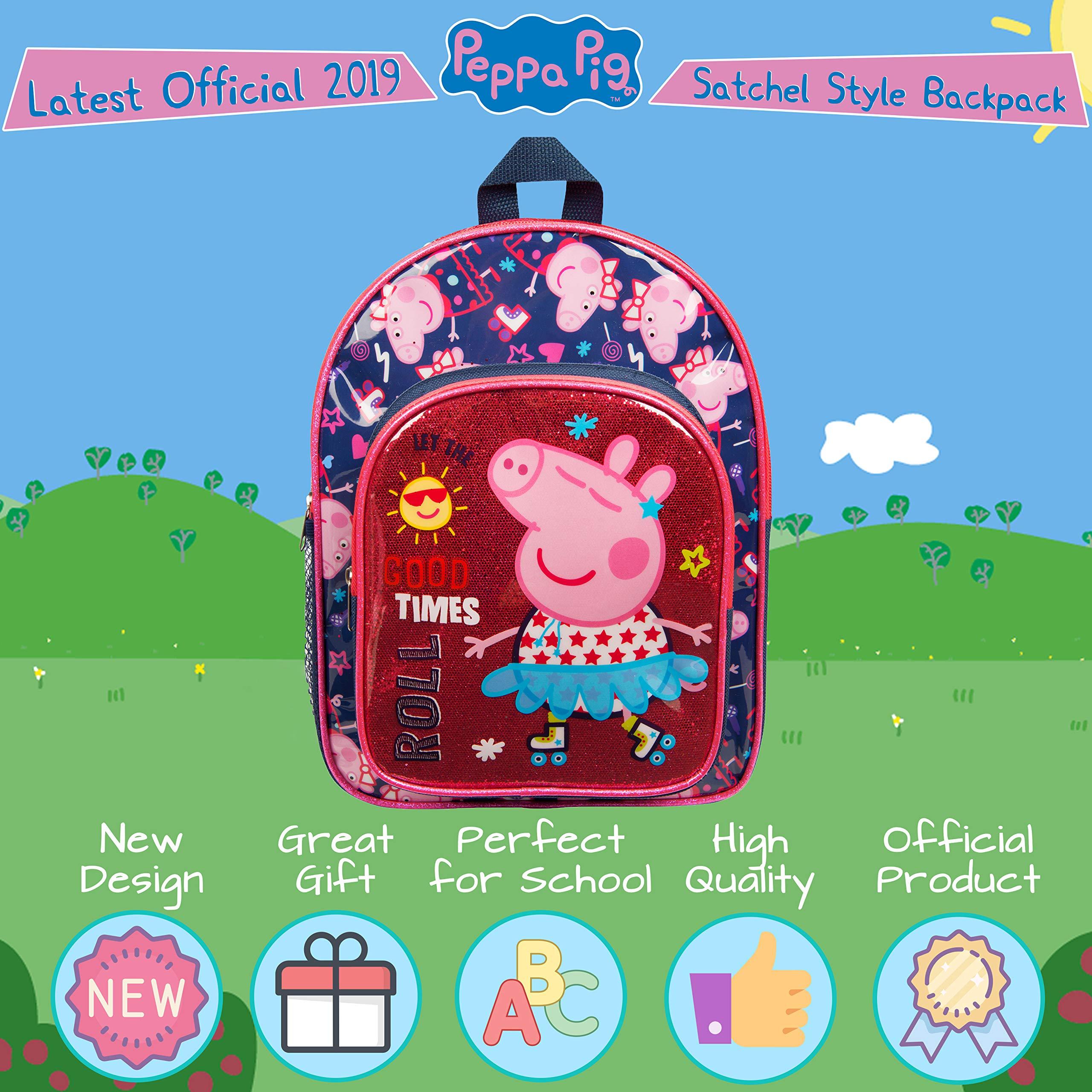 Peppa Pig Conjunto de Sudadera con Capucha y Leggings para Ni/ñas Unicornio