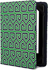 Jonathan Adler Greek Key Hülle für Kindle, Kindle Paperwhite und Kindle Touch, Green
