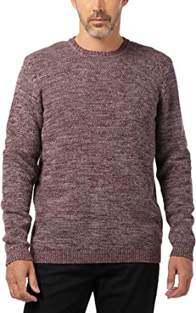 PIONEER Men's Knitted Pullover Crew-Neck Jumper